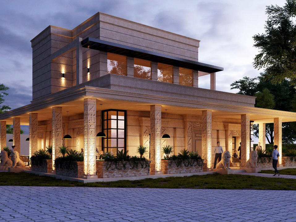 Exterior Design - Sadia and Ammar Associates