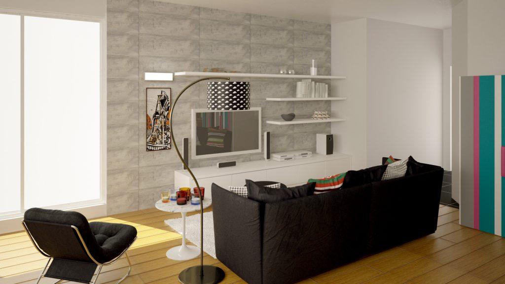 Living Room - Sadia and Ammar Associates