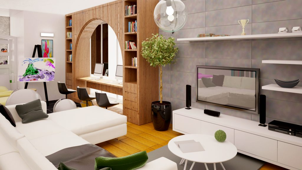 Living Room - Best Architects in Lahore