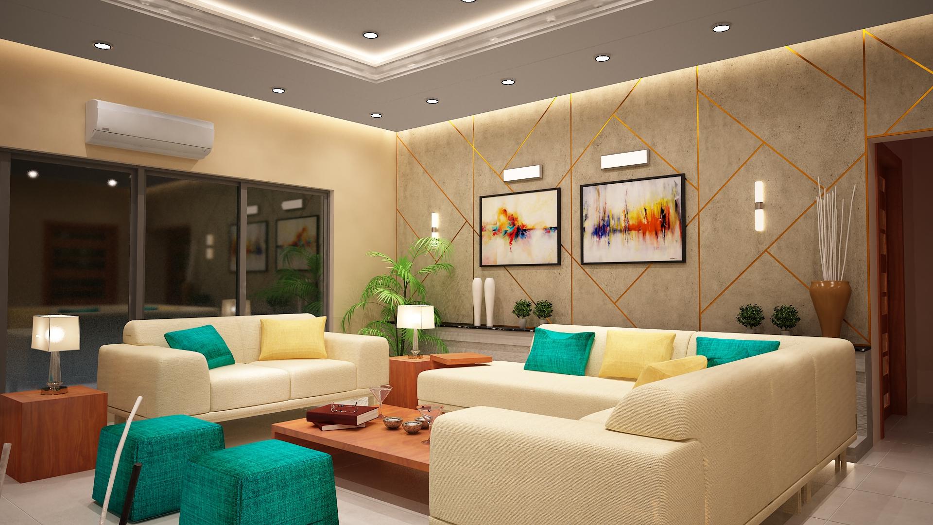 Mr.Qasim Residence - Sadia and Ammar Associates